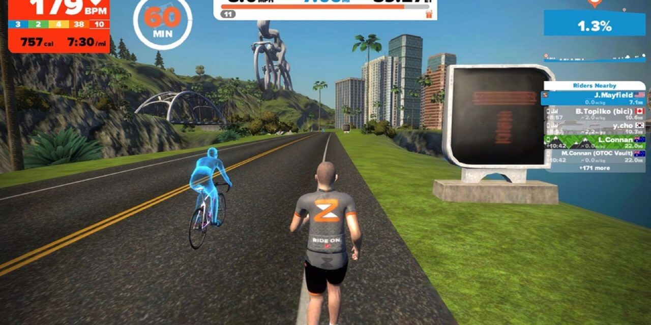 Runners rejoice! Zwift may soon transform your treadmill experience…