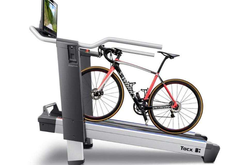 Tacx Magnum smart bike treadmill unveiled