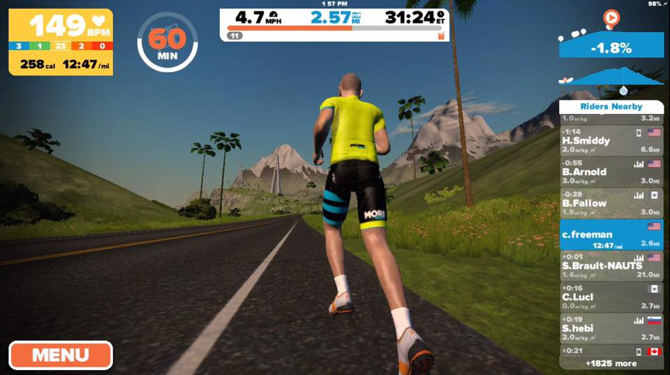 How To: start running on Zwift iOS today!