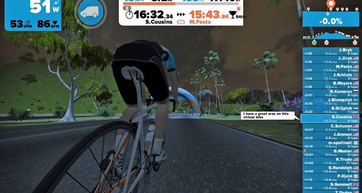 Throwback Thursday: Jarvis, the original Zwift Island
