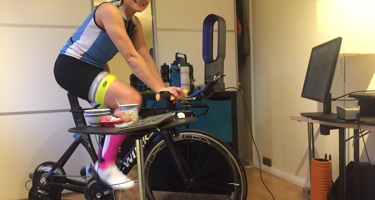 Interview with Zwift distance record holder Jasmijn Muller