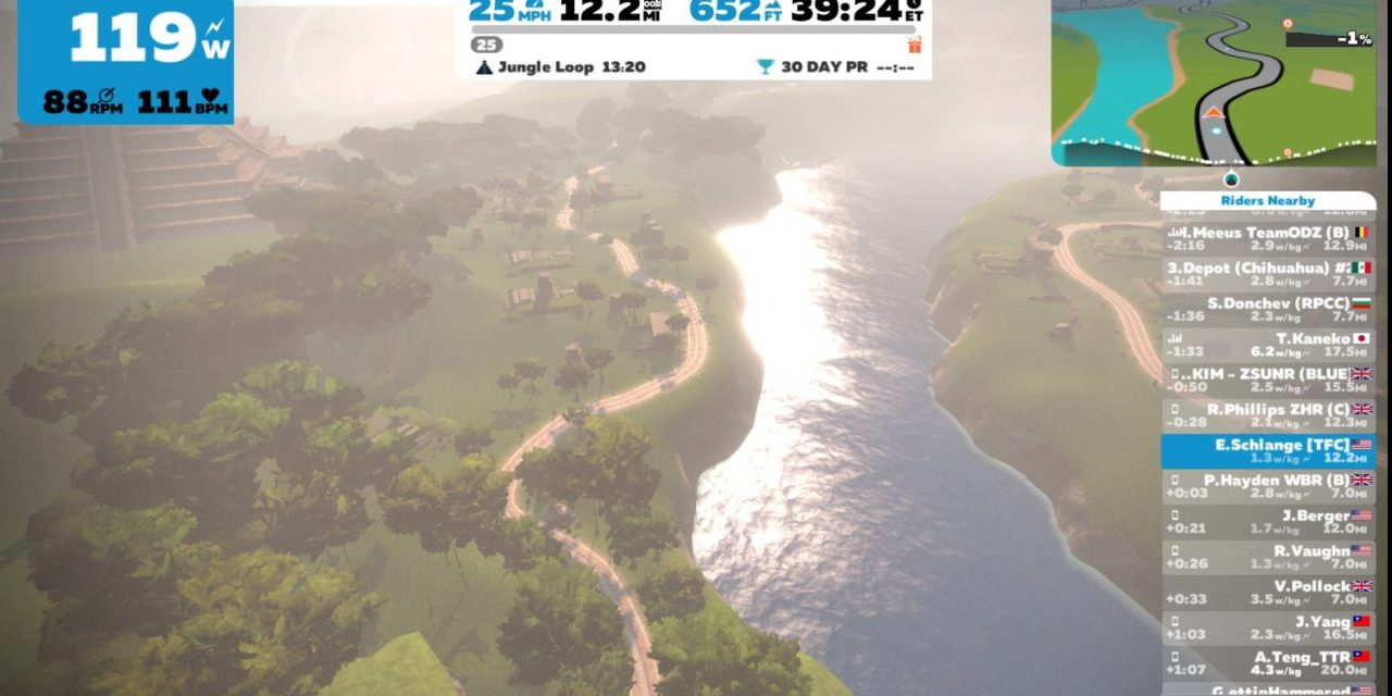 Zwift Watopia Road to Ruins route details