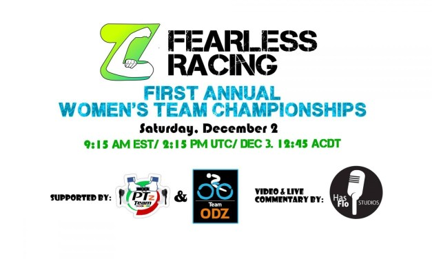 First Annual Women's Team Championships this Saturday, Dec 2