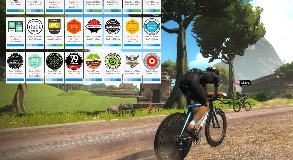 Good news: Strava allows virtual activities to count towards (some) challenges