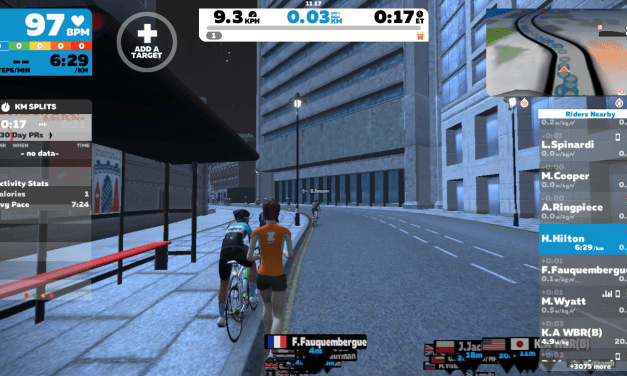 Zwift Running with an Apple Watch