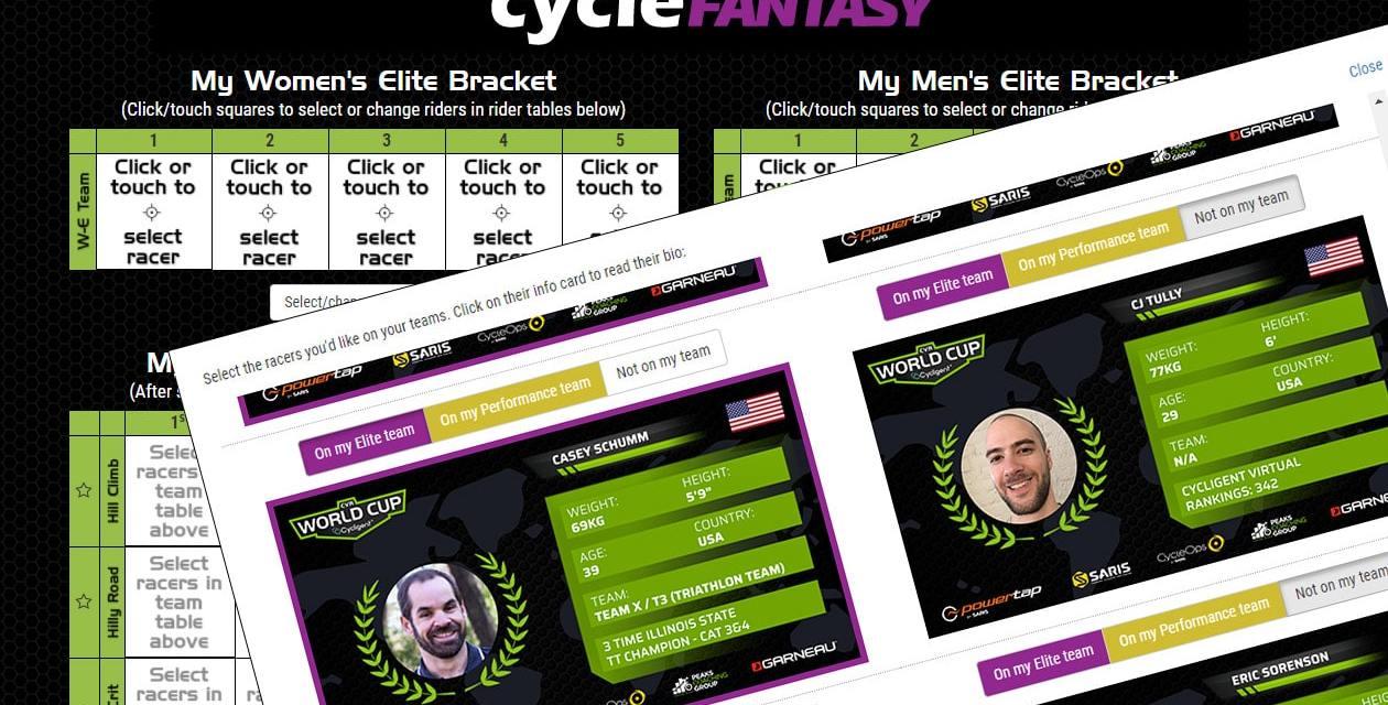 Build Your CVR World Cup Los Angeles Cycle Fantasy Teams