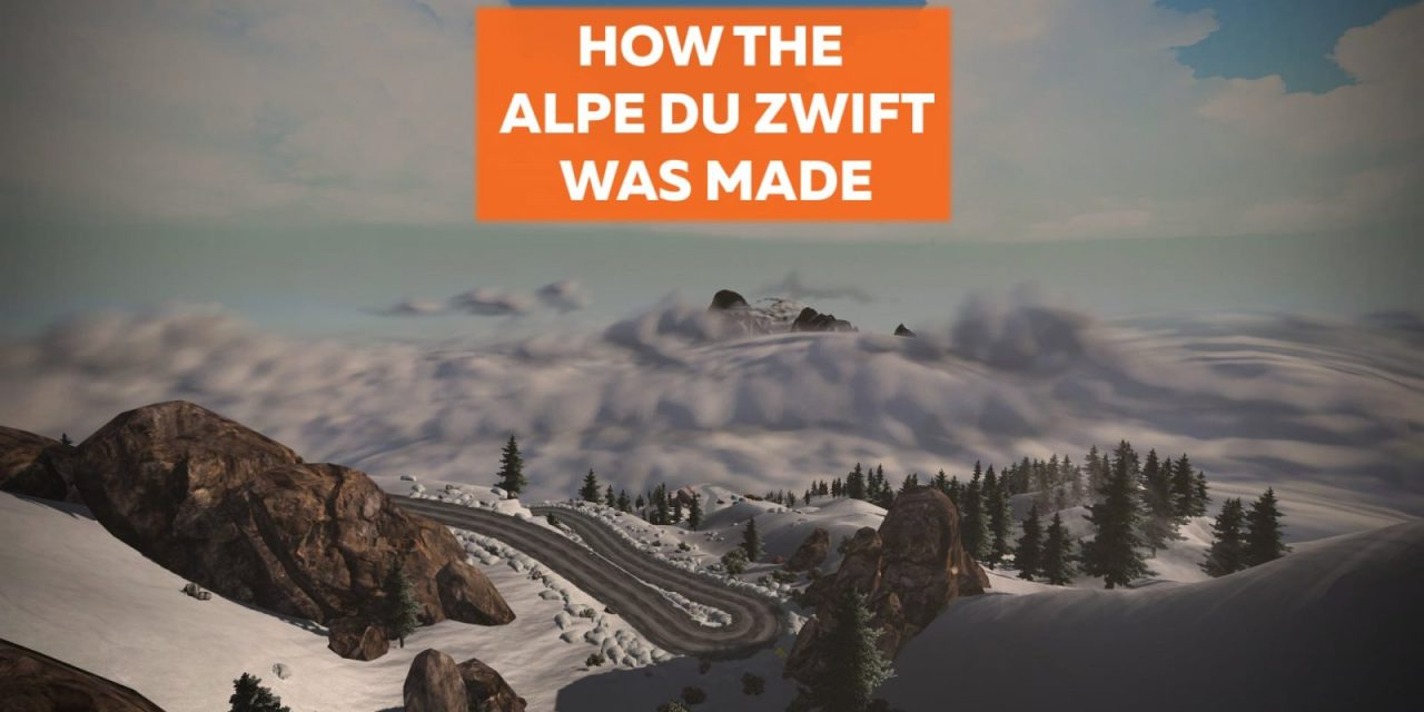 How The Alpe Du Zwift Was Made (Zwiftcast Special)