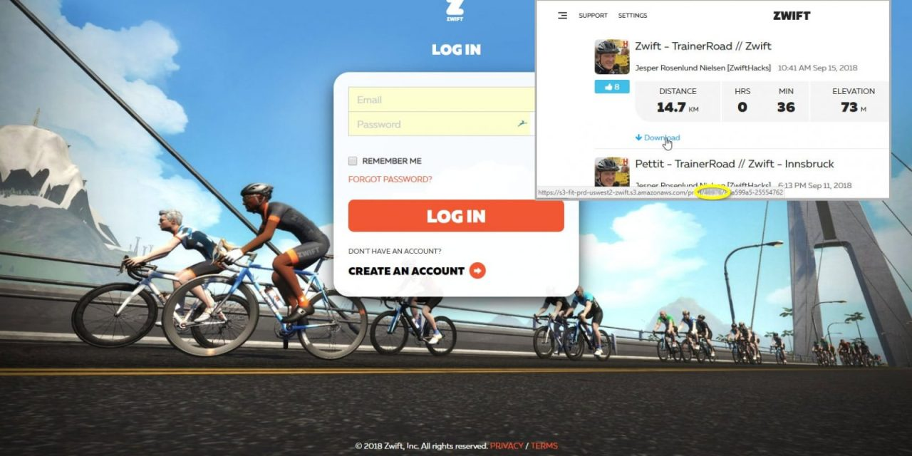 Find Your Zwift User ID on my.zwift.com