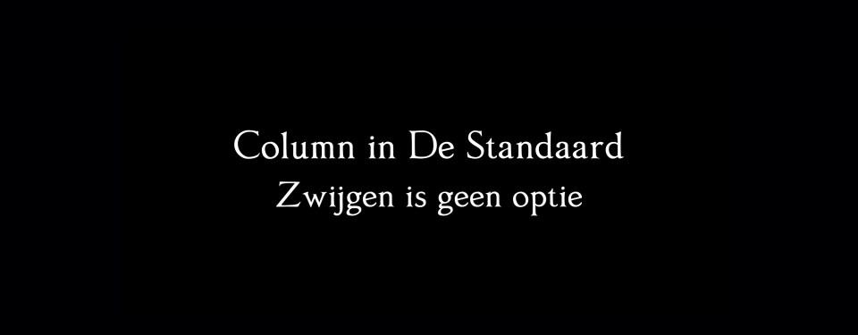 Column Stijn Van der Stockt