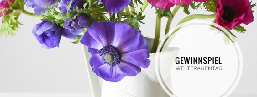 Gewinne ein Blumenabo von Valentins zum Weltfrauentag