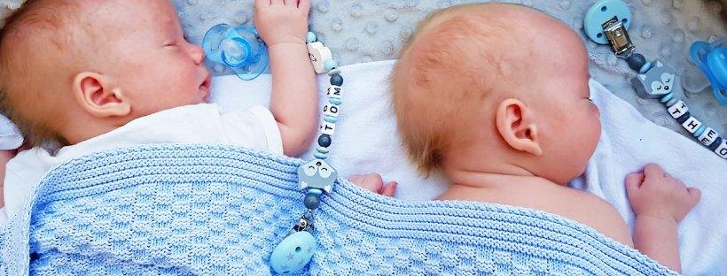 Geburtsbericht 38. SSW Zwillingsjungen Babys