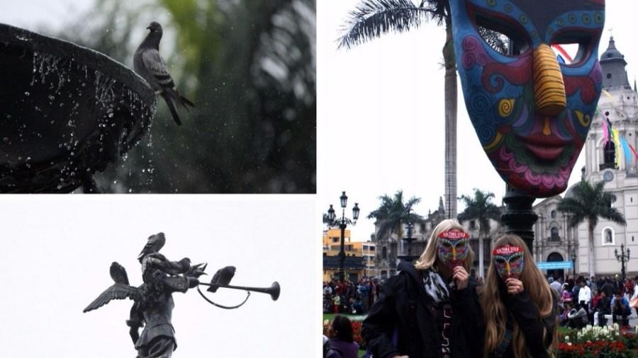 Im Süden fliegen die Kondore, in Lima nur die Tauben.