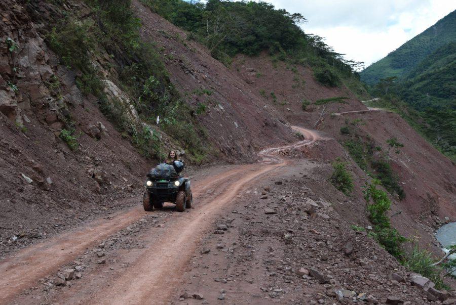 Die Anfahrt nach Pozuzo in der Regenzeit.