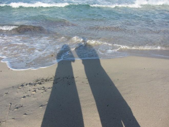 So sind wir alle dann doch noch einmal ins Meer gekommen...