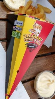 Köstliche belgische Pommes