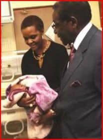 Bona Mugabe Baby Boy Named 'Simba Gabriel Chikore'