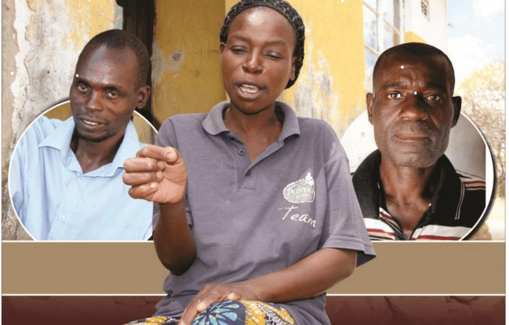 Pictures..Zimbabwe women married to 2 husbands, cases on the rise