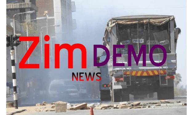 LIVE NEWS UPDATES: Zimbabwe NERA Mega Demonstrations-Protests Today