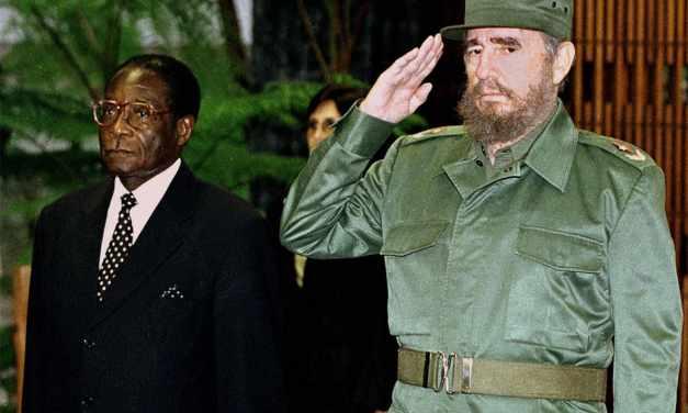 President Mugabe mourns Fidel Castro