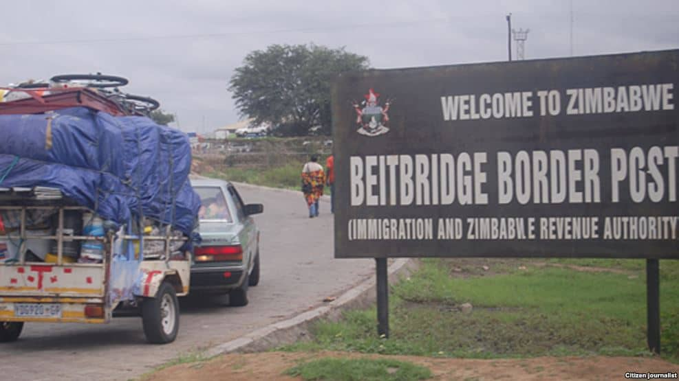 DRAMA as Zim man is caught stamping 'border jumpers' passports at Beitbridge inside car