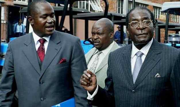 Mnangagwa a ticking political time bomb for Zim: Mugabe's message to Gono, Chiwenga