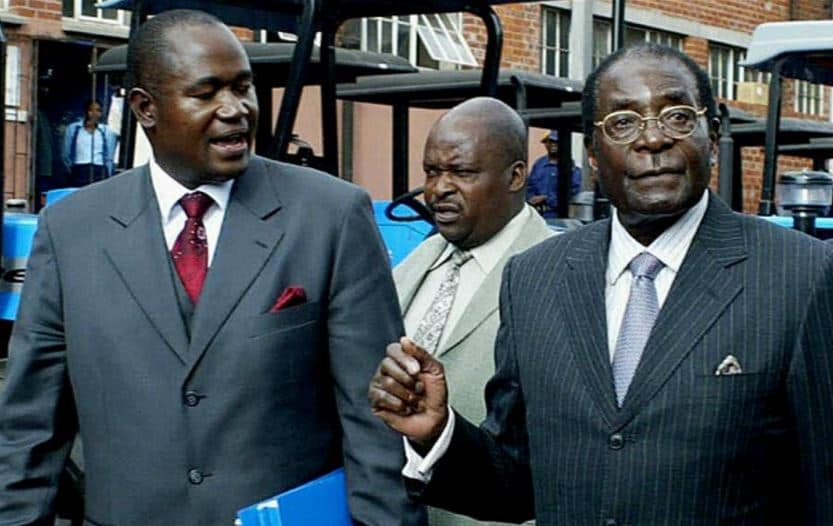 Mnangagwa a ticking political time bomb for Zim: Mugabe's message to Gono, Chiwenga