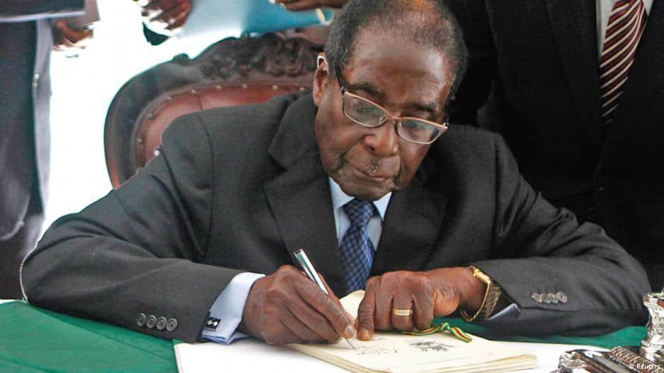 Parliament sends 3 bills to President Mugabe for assent