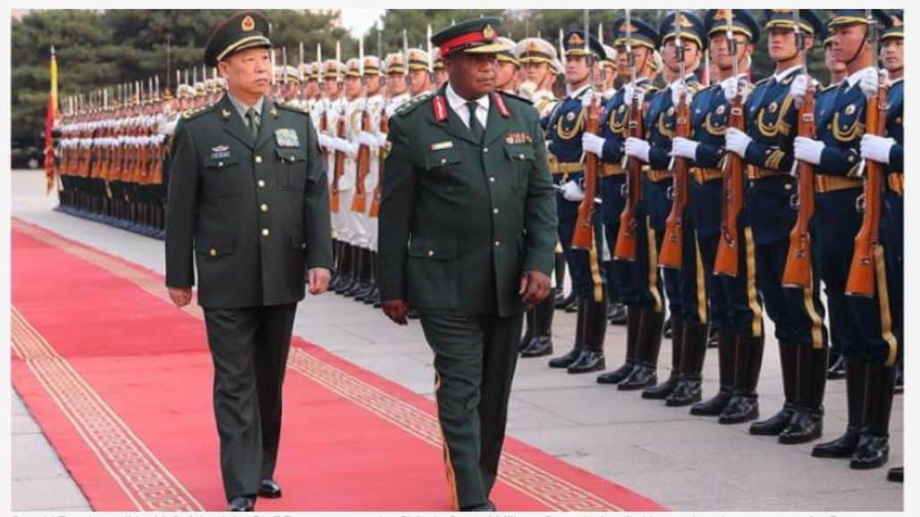 Chiwenga returning from China to do another coup?