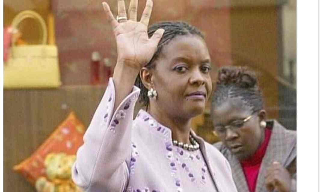 BREAKING: Grace Mugabe left with few days to live, Critically ill in Singapore..Govt sources