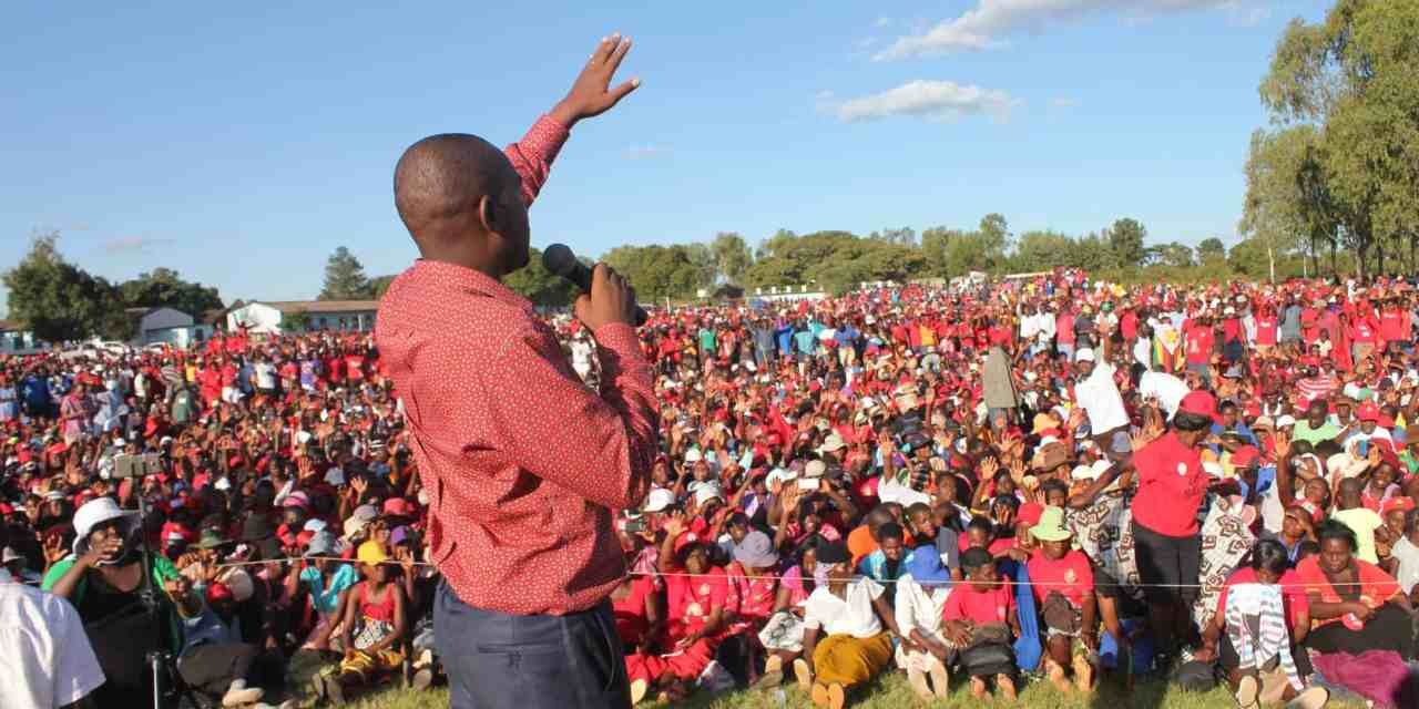 Chamisa cancels self 'inauguration' due to cholera fears