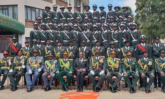 """Army Generals unhappy with rampant looting by Mnangagwa, his children"""