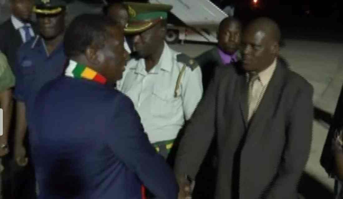 ED Mnangagwa in Victoria Falls for SACAU meeting