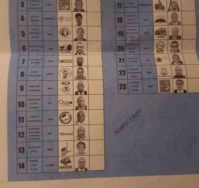 PICTURE: Political parties to witness ZEC ballot printing today