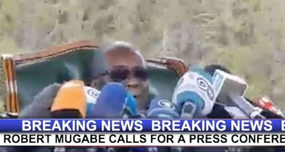 Watch Live Video: Mugabe election speech today..I wanted  Sekeramayi to succeed me