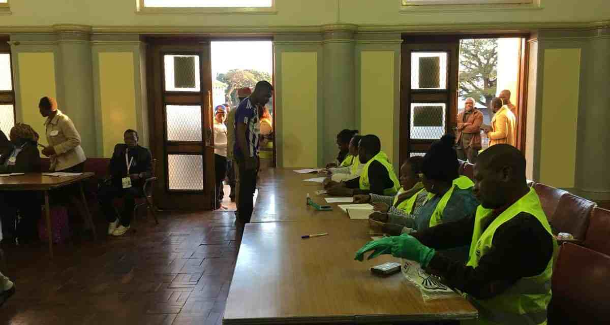 Zimbabweans secretly voted in Mozambique elections?