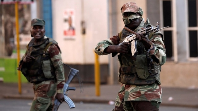 Soldiers fire gunshots at Job Sikhala's house