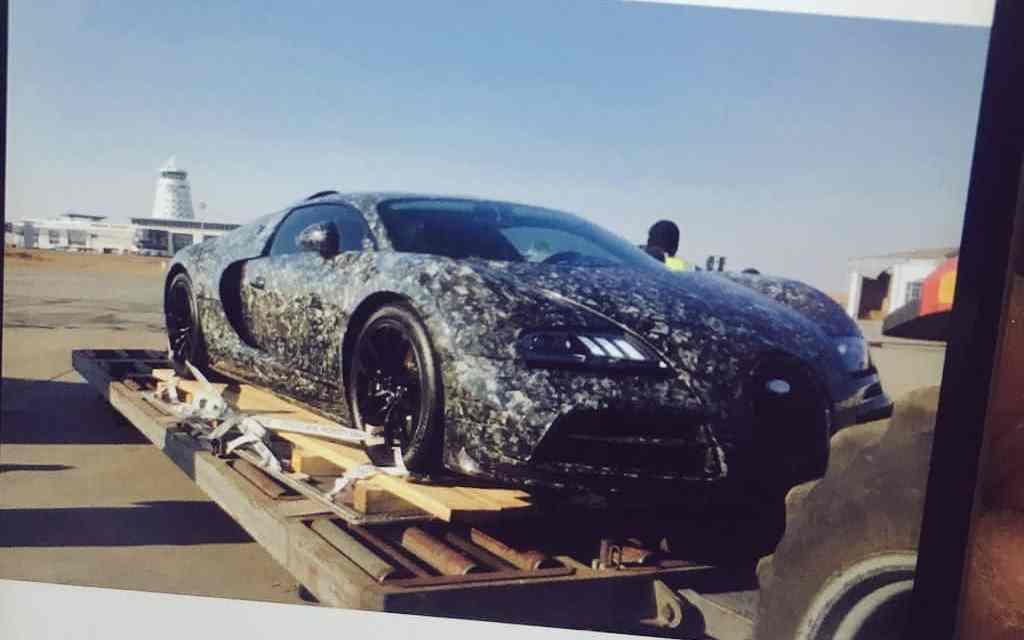 Pictures: ED ally's $3,5m Bugatti Veyron lands at Harare Airport