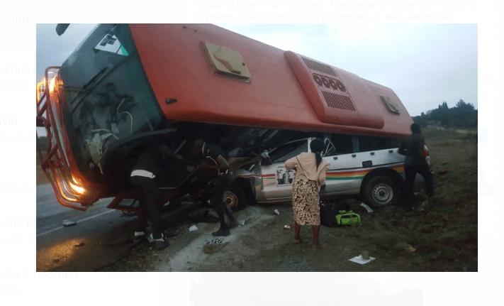 PICTURES: Cde Shiri of Zanu PF Dies in horror road accident…Gweru