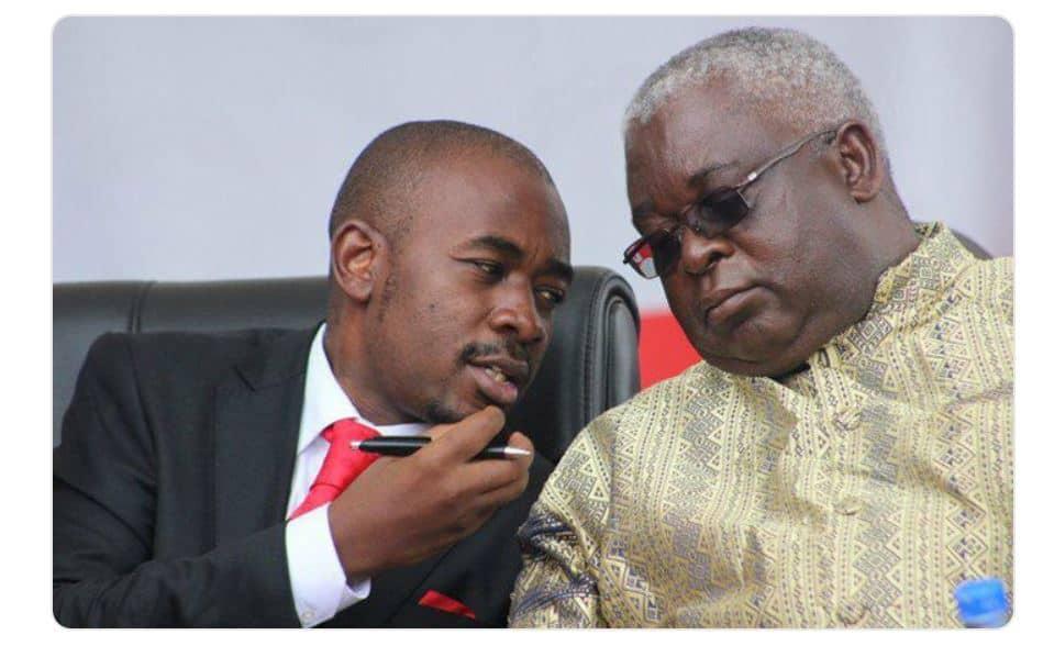 Chamisa's MDC suspends party VP Elias Mudzuri for endorsing ED Mnangagwa