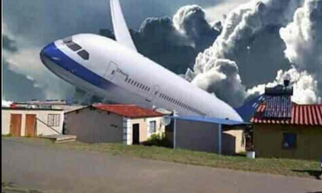 Zim Warriors in midair EMERGENCY..Aeroplane did not plummet and crash: Report