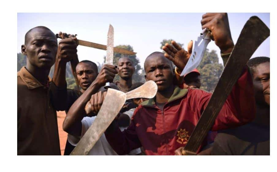 Machete gang members attack gold miner, Vanish with US$15 000