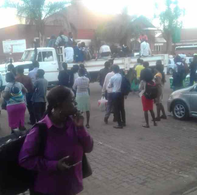 Dire transport situation in Harare as pseudo-Zupco dumps govt
