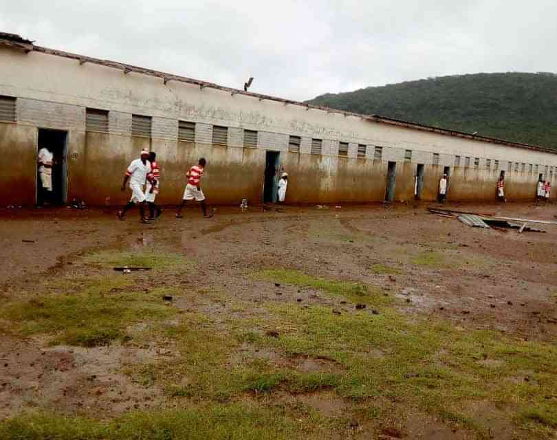 Mutimurefu Inmates reject freedom offer from Cyclone Idai…PICTURES