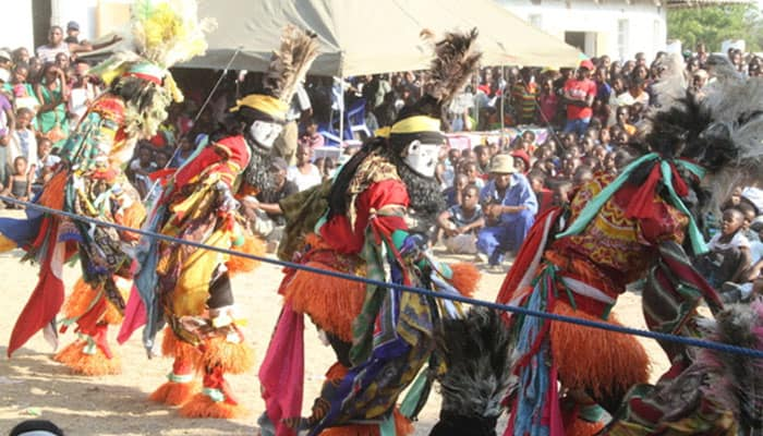 Man gets house torched for unmasking Nyau dancers