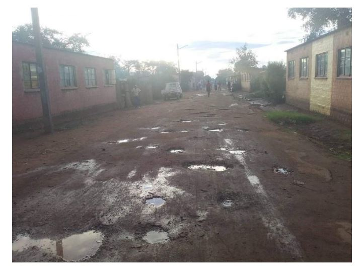 SAD PICTURES: The face of Kadoma