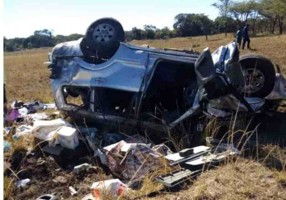 BREAKING: Chiwenga feared dead, wife killed in deadly road accident..PICTURES