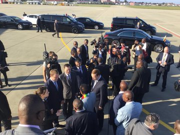 Pictures: Mnangagwa arrives in Sochi for Russia-Africa summit