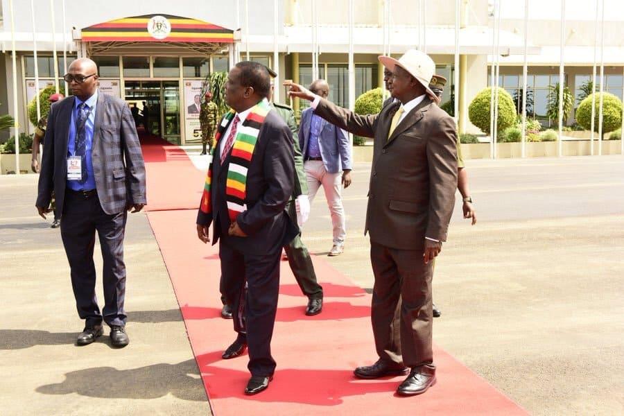Mnangagwa, Oil tycoon Tagwirei arrive in France