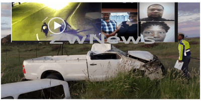 NAMIBIA: Zim murder suspects cheat death while in police car..Crime scene cctv video leaked