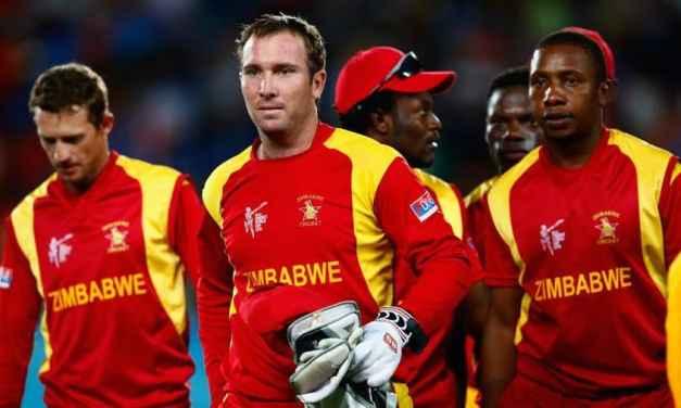Zimbabwe Cricket ranked 10th in ICC men's team rankings